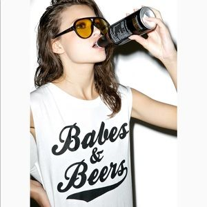 Tops - Social Decay Babes and Beers Tank